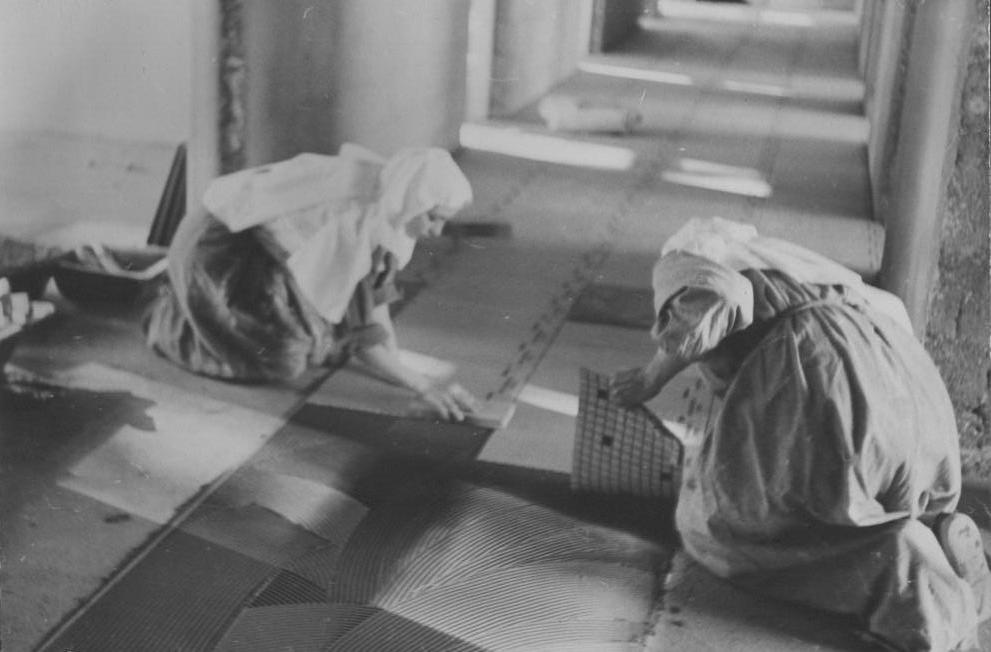 Maison Médicale Jean XXIII à Frelinghien en 1966